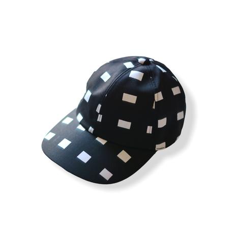 "【 franky grow 21SS 】ORIG. CHECK CAP [21SBB-228] "" キャップ "" / WHITE-BLACK"