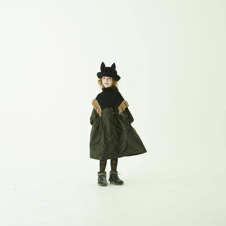 "【 eLfinFolk 21AW 】 Beast HAT by CA4LA(elf-212A08) ""帽子""  / black"