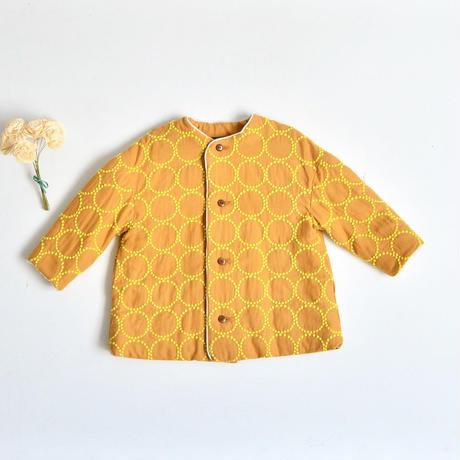 """【ミナペルホネン 17AW】 コート """"tambourine"""" / mustard / 90 , 100cm  (VA6054P)"""
