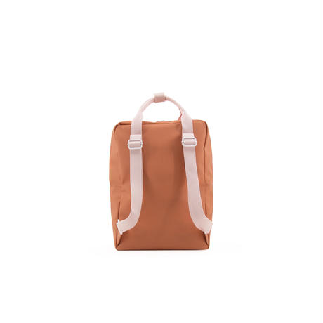 【 Sticky Lemon 】 BACKPACK ENVELOPE / TANGERINE x P.PINK / size  L