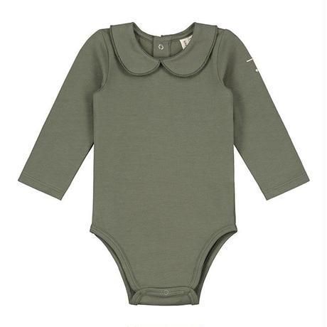 【 GRAY LABEL 2019AW】Baby Collar Onesie / Moss / 9-12m