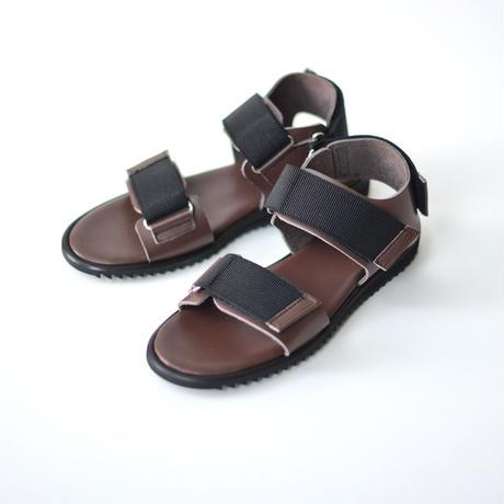 "【 NINOS 】WP Sandal(NTC021 ) "" 海水OK!レザーサンダル "" / Brown / 22.5 - 25cm"