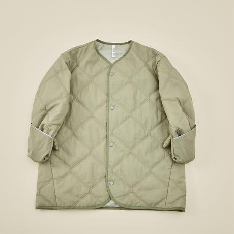 """【 MOUN TEN. 21AW 】quilt mitten coat """"コート"""" / セージグリーン / 0(150-160)"""