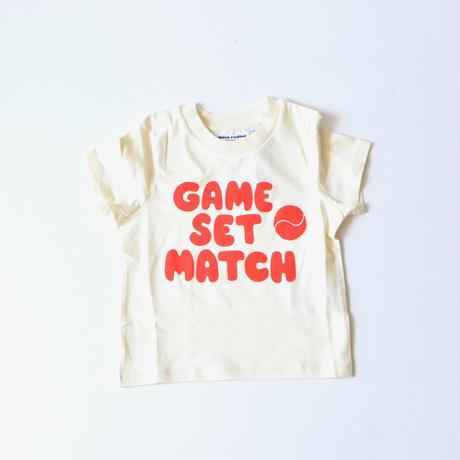 "【 mini rodini 2020SS 】Game sp tee(20220140) ""Tシャツ"""