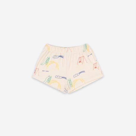 "【 BOBO CHOSES 21SS 】Playground All Over Terry Fleece Shorts(121AC063)""ショートパンツ"""