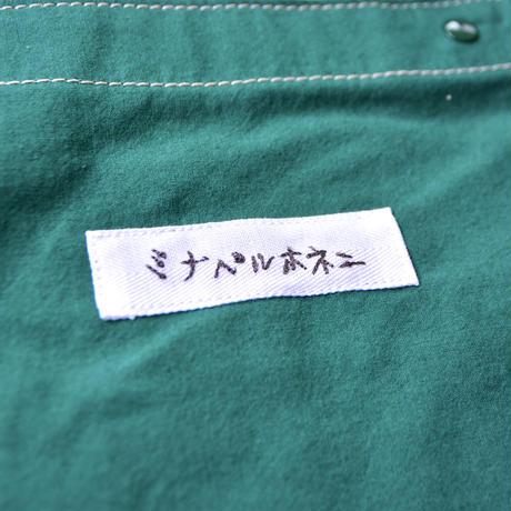 """【 ミナペルホネン 21AW 】ZA7050P palmier """"レッスンバッグ"""" / green"""