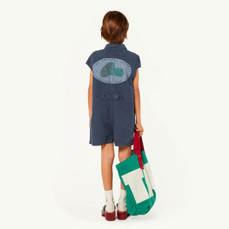 【 THE ANIMALS OBSERVATORY 2019SS 】SMALL CANVAS TOTE ONESIZE BAG / green