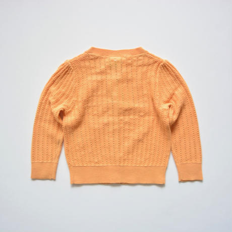 【 FUB 2020SS 】S/S Baby Cardigan / ピーチ / 80 / 86cm