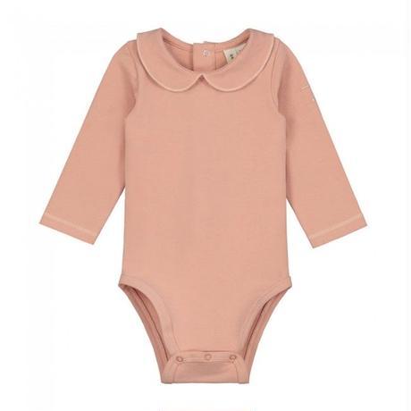"【 GRAY LABEL 2020SS】Baby Collar Onesie  ""ロンパース"" / 70-80cm / Rustic Clay"