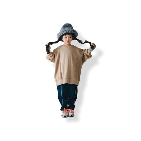 【 nunuforme 21AW 】フロント&バックトレーナー / 53-nf16-838-608 / Beige