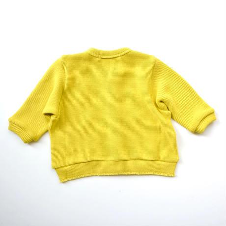 """【 ミナペルホネン 20AW 】YA8105P  makea """" カーディガン""""  / yellow / 80-90cm"""