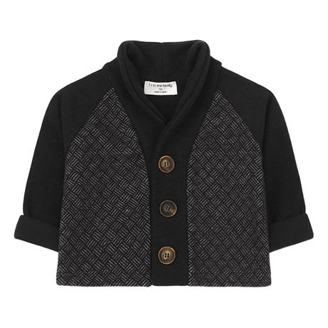 【 1+in the family 2019AW】BRISTOL cardigan / black