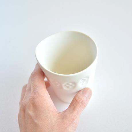 【 ミナペルホネン 】BP8010P こどものうつわ カップ / ホワイト