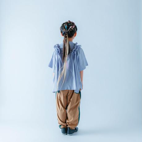 【 nunuforme 21SS 】シャーリングT [46-nf15-982-500] / Purple