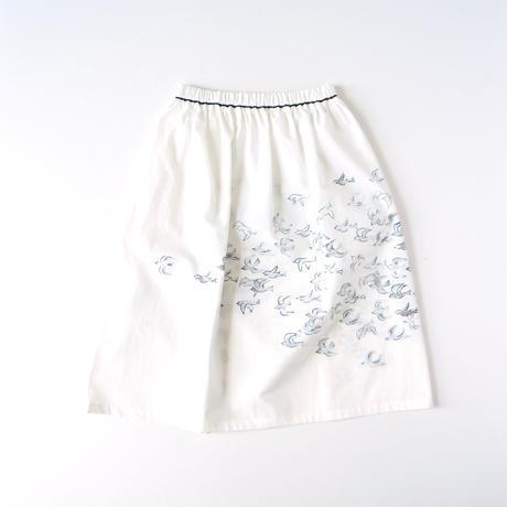 """【 ミナペルホネン 20SS 】YS5053P kanata """" スカート """" / white / M - L"""