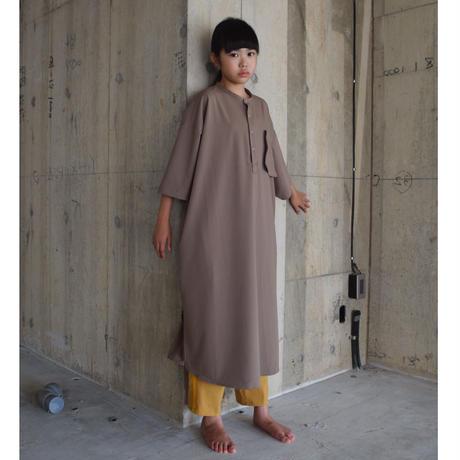 【 SWOON 21SS 】フロートポケットシャツワンピース [02-sw15-406-021] / Beige