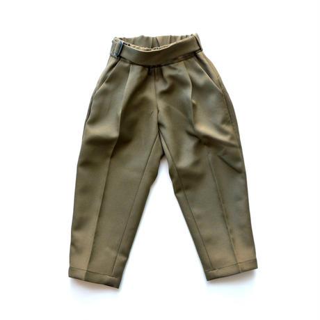 """【 MOUN TEN. 20AW 】stretch twill pants  [MT202006] """" パンツ """"  / khaki / 1(Ladies F)"""