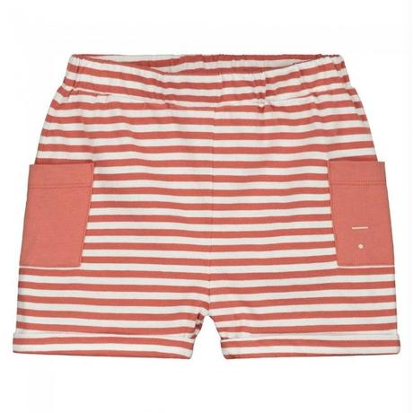 """【 GRAY LABEL 2020SS】Relaxed Pocket Shorts  """"ショートパンツ"""" / Faded Red/Off White Stripe / 90-130cm"""