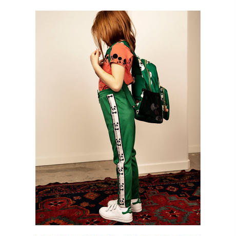 【 mini rodini 2020SS PRE 】Panda wct trousers(20130141) / Green