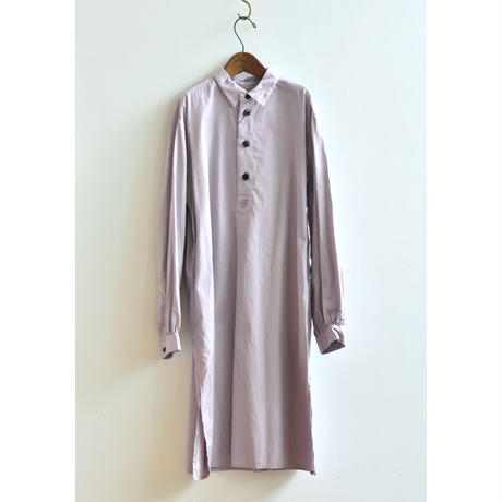 """【 GRIS 21AW 】 Long Pullover Shirt """"ロングシャツ"""" / Orchid Purple / size XL(150-160)"""