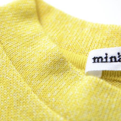 """【 ミナペルホネン 21SS 】ZS8130P liquide """" Tシャツ""""  / yellow / 80-100cm"""