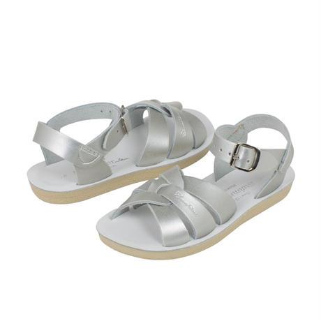 """【 Saltwater Sandals 】 海でも履けるソルトウォーターサンダル  """"Swimmer Premium """"  / シルバー / 20 - 22.5cm"""