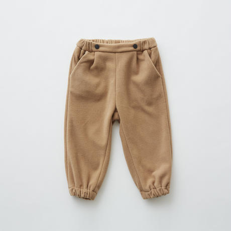 【 eLfinFolk 2019AW 】elf-192F29 freece pants / beige / 80 - 100cm