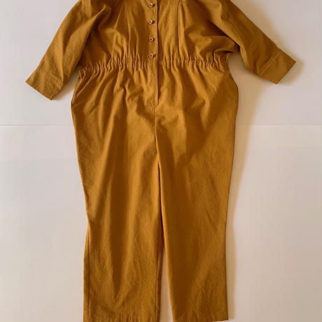 【 folk made 2019AW 】neo jumpsuit / mustard / size M, L