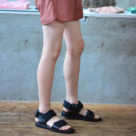 "【 NINOS 】WP Sandal(NTC021 ) "" 海水OK!レザーサンダル "" / Black / 22.5 - 24.5cm"