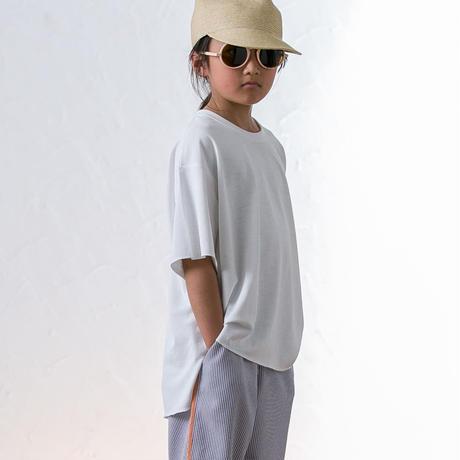 【 MOUN TEN. 2020SS 】seed stitch T [MT201014-a] / white