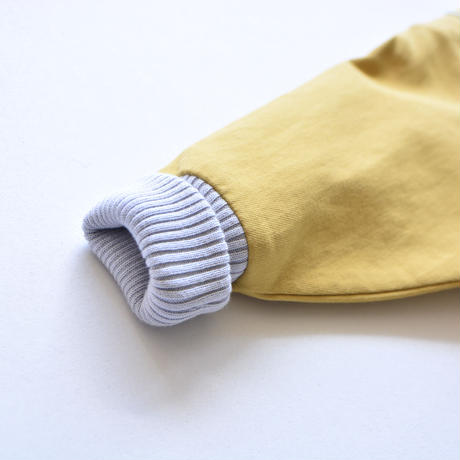 """【 ミナペルホネン 21AW 】ZA2041P bonbon """"アウター"""" / mustard / 90-100cm"""