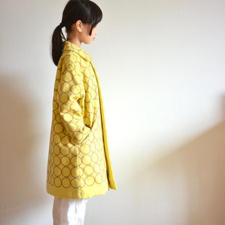 """【 ミナペルホネン 20AW 】YA6066P  tambourine  """" コート """"  / yellow / 120-140cm"""
