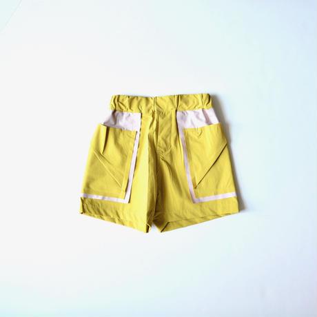 【 nunuforme 2020SS 】バイカラーショートパンツ [nf13-629-088A]  / ピーカブーヤ別注カラー  / 155cm - F(レディース)