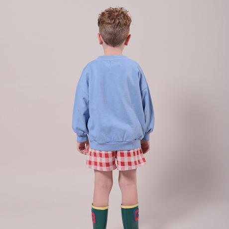 "【 BOBO CHOSES 21SS 】Vichy Jersey Shorts(121AC064)""ショートパンツ"""