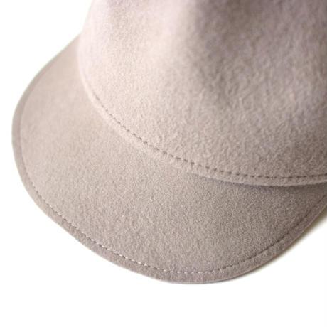"【 MOUN TEN. 】mountain cap [MT182029] "" キャップ "" / greige"