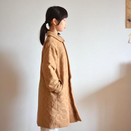 """【 ミナペルホネン 20AW 】YA6066P  tambourine  """" コート """"  / light brown / 120-140cm"""