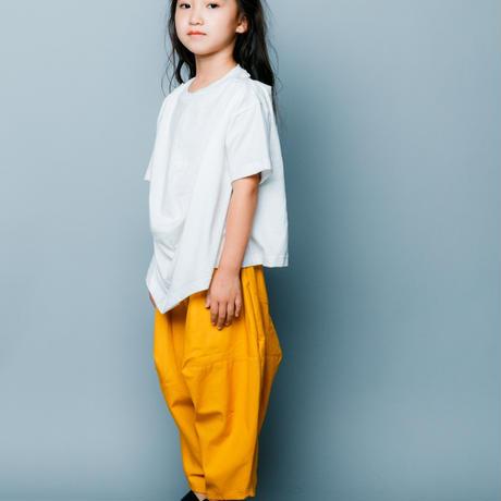 【 nunuforme 2020SS 】オックスポインテッドパンツ [ns-621-005A] / Mustard / F(レディース)