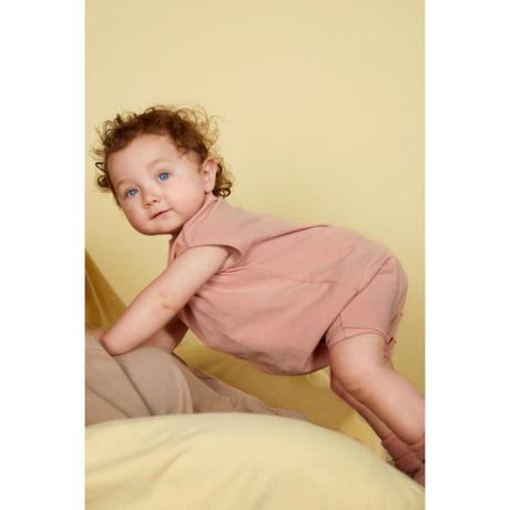 """【 GRAY LABEL 21SS】Baby Grow with Snaps   """" ロンパース """" / Rustic Clay"""