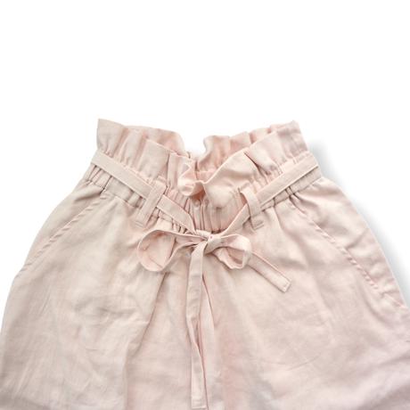 "【 UNIONINI 21SS 】PT-065 linen big pants  "" パンツ ""  / pink"