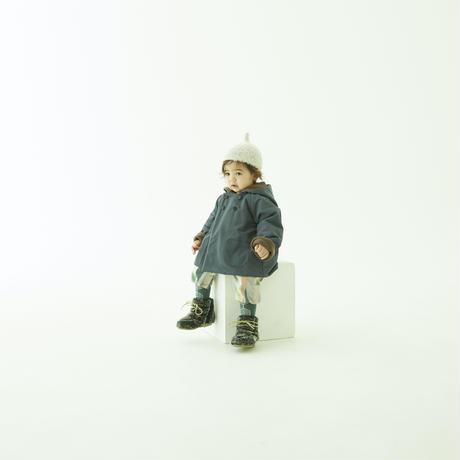 "【 eLfinFolk 21AW 】 elf coat(elf-212F44) ""コート""  / blue gray / 110 - 130cm"