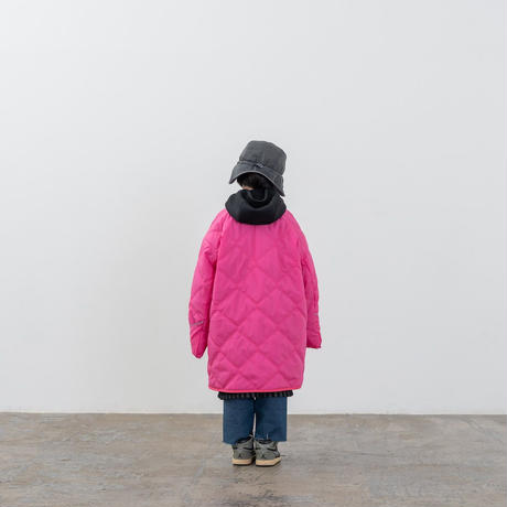 "【 MOUN TEN. 20AW 】quilt mitten coat  [MT202035] "" コート ""  / pink /"
