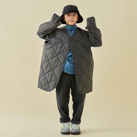 """【 MOUN TEN. 21AW 】quilt mitten coat """"コート"""" / チャコール / 0(150-160)"""