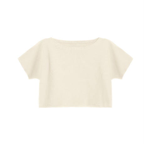 【 Little Creative Factory 18SS 】  Soft T-Shirt / IVORY