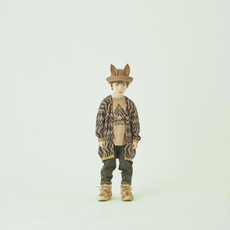 """【 eLfinFolk 21AW 】 Beast HAT by CA4LA(elf-212A08) """"帽子""""  / beige"""
