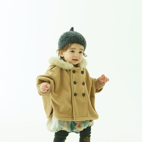 """【 eLfinFolk 21AW 】 pygmy cap (elf-555A01) """"帽子""""  / charcoal / S,M"""
