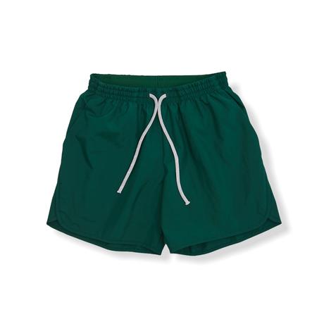 "【 MOUN TEN. 21SS 】board shorts  [21S-MP52-0942a] ""パンツ"" / green / 95-140"
