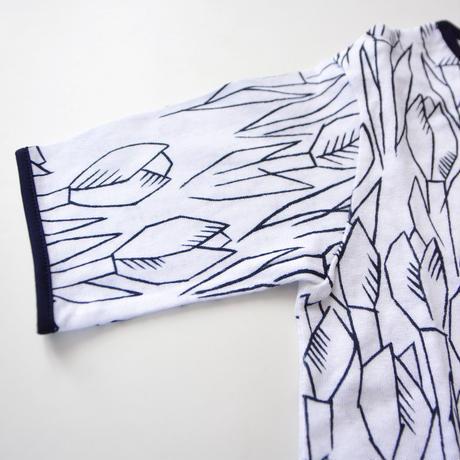 """【 ミナペルホネン 21SS 】ZS8112P tulipani """" カットソー""""  / white / 80-100cm"""