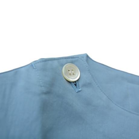 "【 GRIS 21SS 】""Print"" Pull over Shirt [GR21SS-SH005A] ""プルオーバーシャツ"" / Sax Blue / S-L"