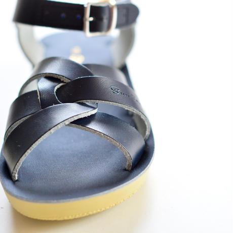 """【 Saltwater Sandals 20SS】 海でも履けるレザーサンダル  / ソルトウォーターサンダル """"Swimmer""""  / ネイビー / 20 - 22.5cm"""