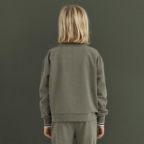 【 GRAY LABEL 2019SS】Boxy Sweater / Nearly Black